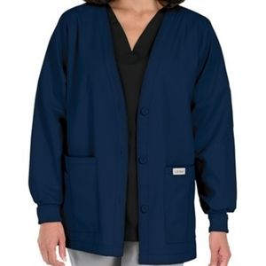 4XL | Landau Scrubs Women's Cardigan Jacket